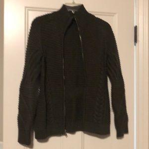 GAP moto sweater
